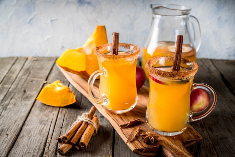 Spiced Pumpkin Sangria