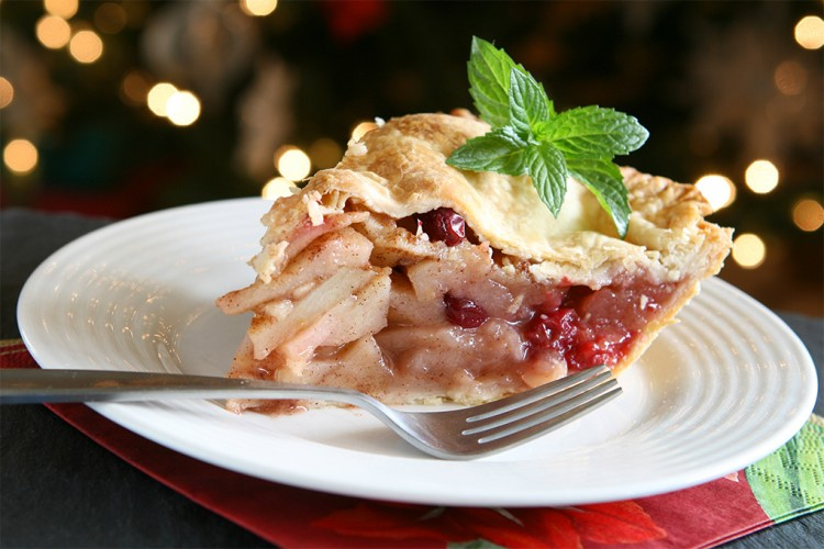 Apple Cranberry Pie