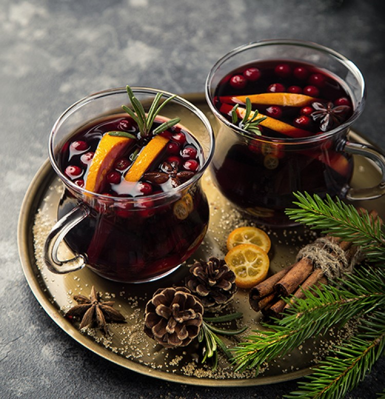 Hot Holiday Sangria