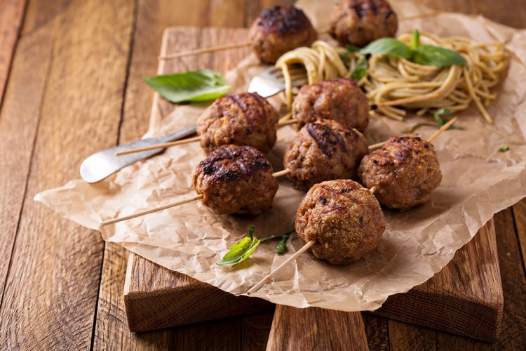 Lime Ginger Meatballs