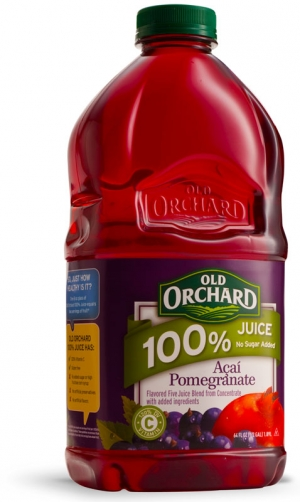 64oz - 100% Juice - Acai Pomegranate