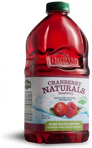 64oz - Cranberry Naturals - Cranberry Raspberry