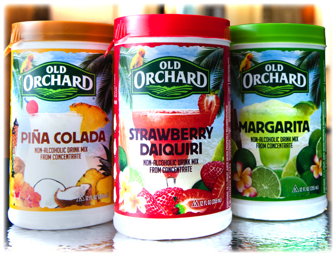 Old Orchard frozen drink mixers