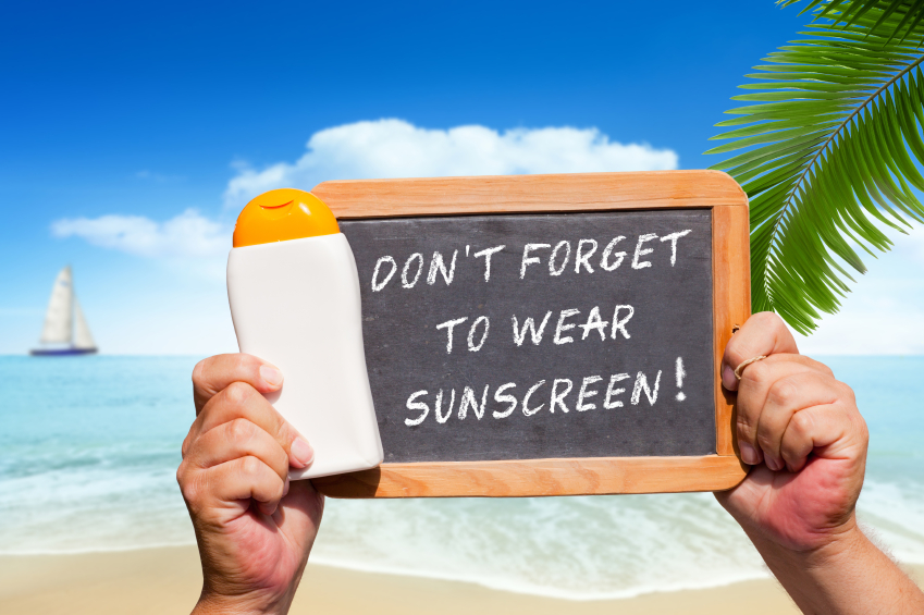 Sunscreen Station