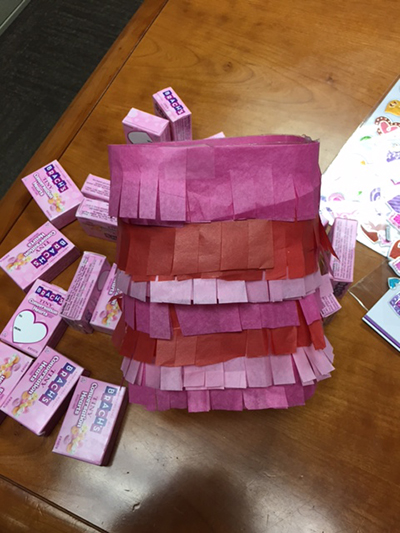 Old Orchard Kid's valentine craft