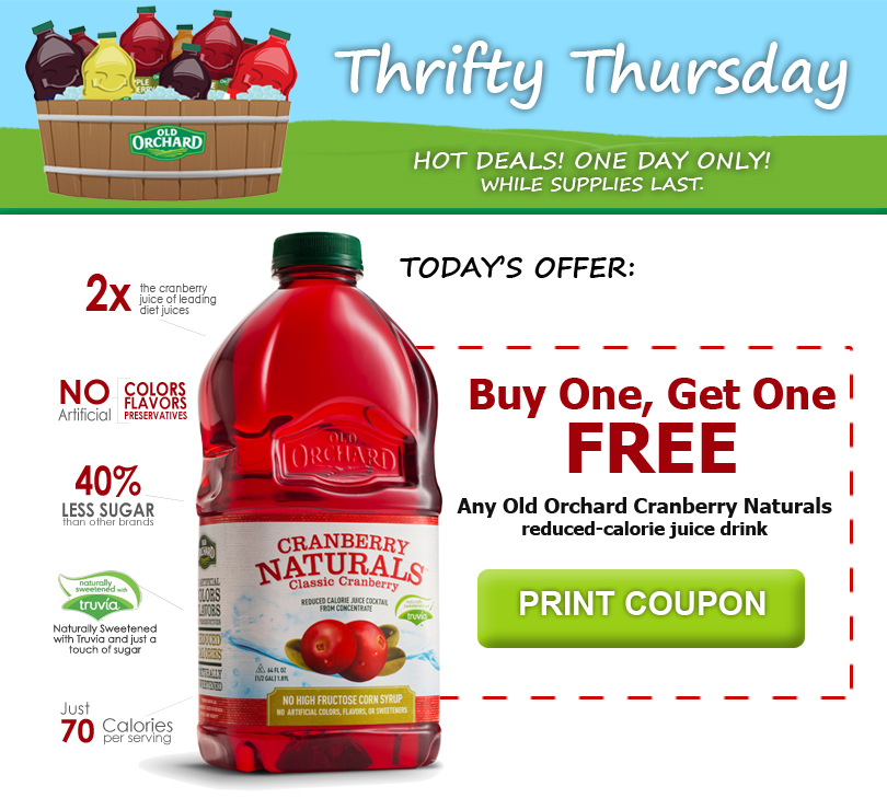 Thrifty discount coupons