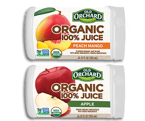 New Line: Old Orchard 100% Organic Juices | Old Orchard Brands