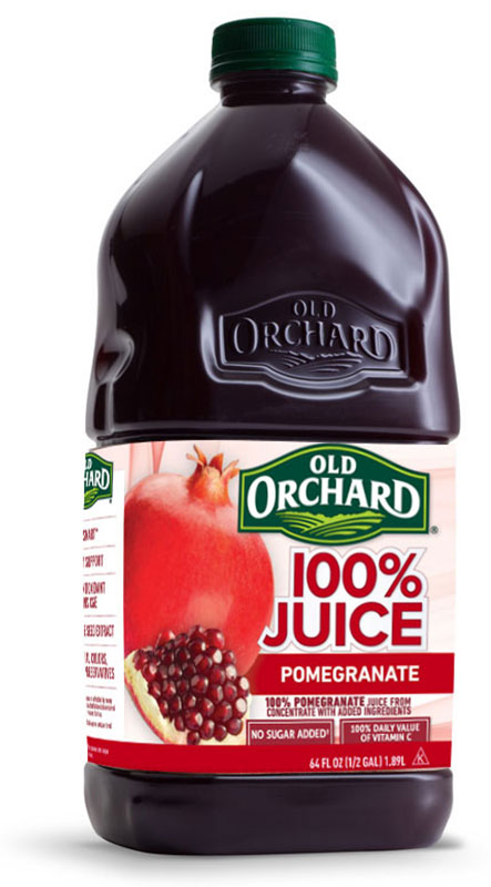 100% Pure Pomegranate Juice - Old Orchard Brands