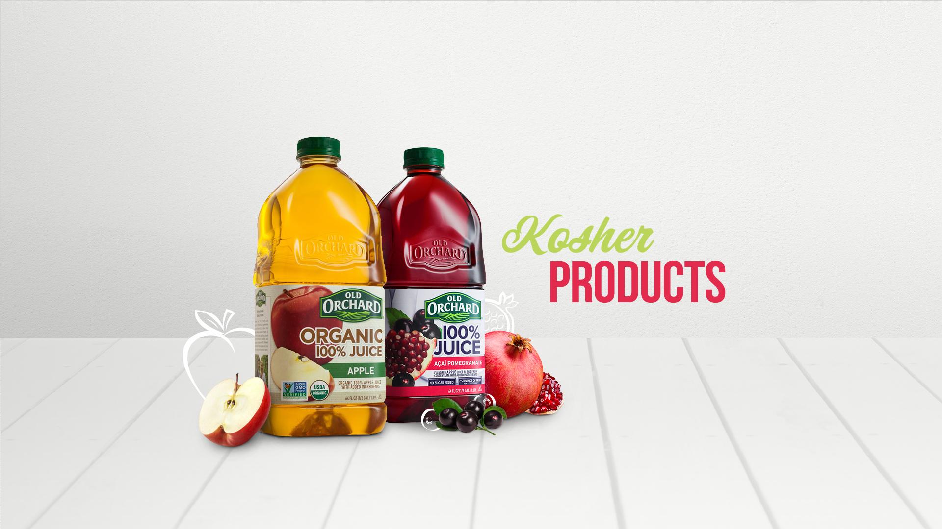 Kosher Products | Old Orchard Brands - 873.9KB
