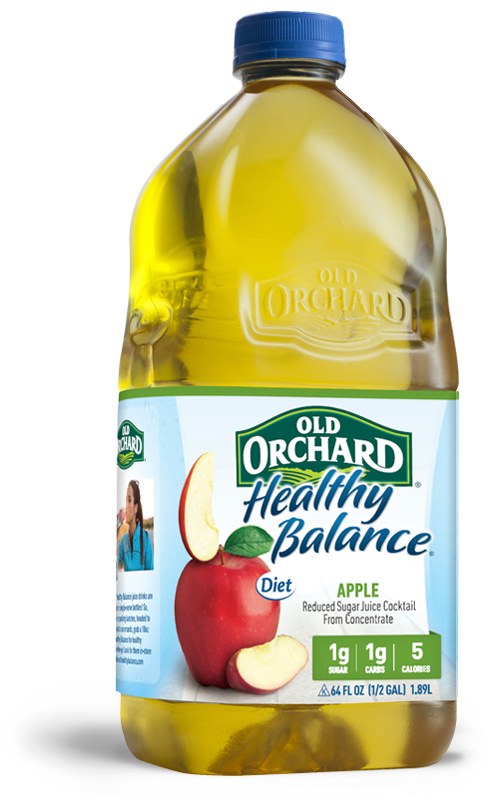 Healthy Balance Apple Cocktail Old Orchard Brands
