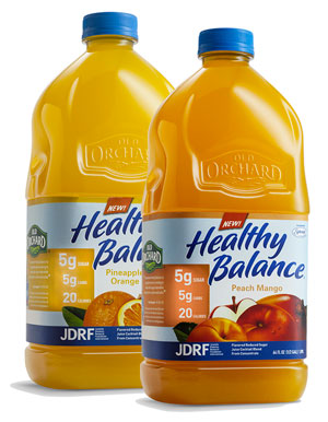 New Healthy Balance flavors of reduced-sugar juice drinks
